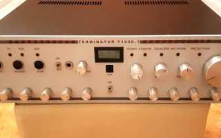 Усилитель звука на 1000 ватт