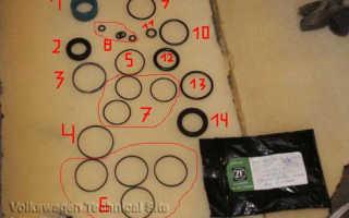Снятие рулевой рейки фольксваген т4