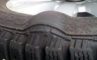 Сколько стоит ремонт грыжи на колесе