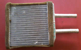 Замена радиатора печки на матизе
