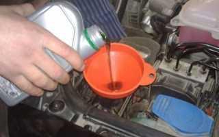 Когда меняют масло в гидроусилителе руля
