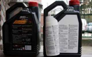 Поддельное масло тойота 0w30