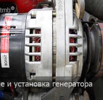 Снять шкив с генератора