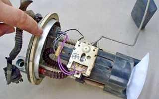 Признаки неисправности бензонасоса ваз 2107 инжектор