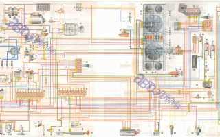 Схема газ 2705 с 405 двигателем