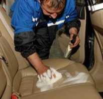 Чем отмыть сидения автомобиля