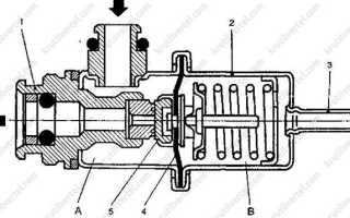 Регулятор давления шевроле ланос