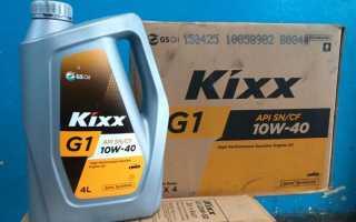 Моторное масло кикс 10w 40 отзывы полусинтетика