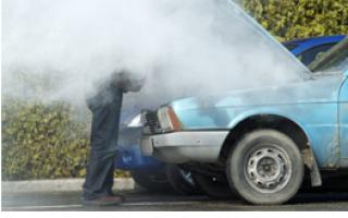Радиатор потек в машине