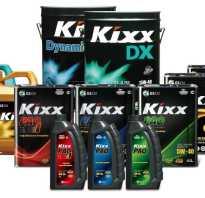 Синтетическое моторное масло kixx