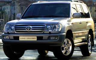 Toyota land cruiser 1998 технические характеристики
