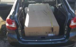 Объем багажника лада гранта лифтбек