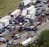 Страшные аварии на дорогах россии
