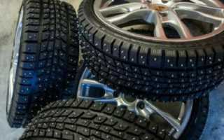 Зимние шины количество шипов