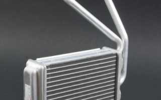 Как заменить радиатор печки рено логан