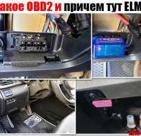 Что такое obd2 в машине