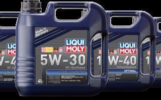 Моторное масло ликви моли 5w30 отзывы