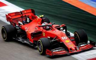 Формула 1 максимальная скорость на трассе