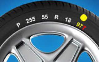 Автошины индекс скорости и нагрузки
