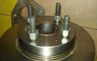 Как сделать дисковые тормоза на ваз 2107