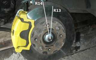 Тормозной диск лада гранта размеры