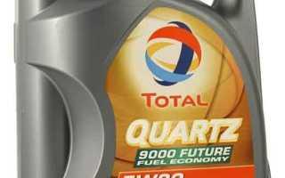 Тотал кварц 9000 5w30