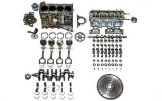 Сколько стоит сделать капитальный ремонт двигателя