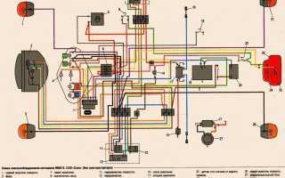 Схема проводки на урал