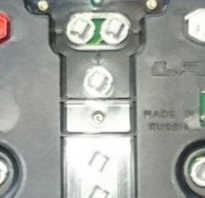Лампа приборной панели шевроле нива