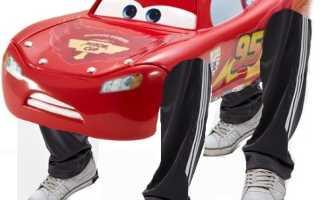 Строение автомобиля для детей