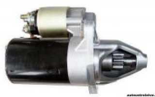 Система электрического пуска двигателя стартер