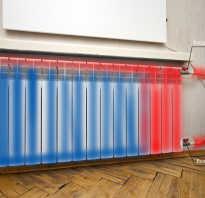 Радиатор не прогревается полностью