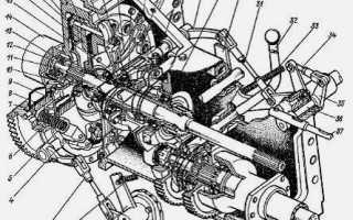 Сцепление трактора т 40