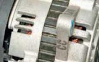 Замена щеток генератора шевроле лачетти