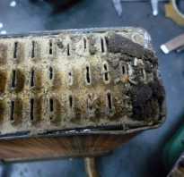 Почистить радиатор автомобиля не снимая его