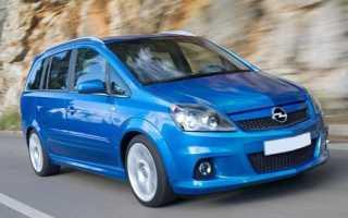 Opel meriva технические характеристики