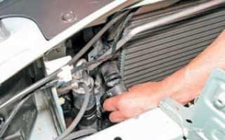 Замена радиатора охлаждения рено логан с кондиционером