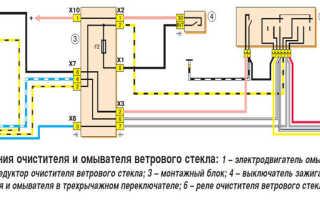 Двигатель дворников ваз 2107