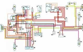 Электросхема иж планета 5