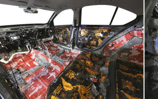 Шумоизоляция автомобиля шкода октавия а7
