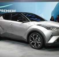 Тойота си эйч ар 2017 новый