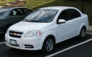 Chevrolet t06 aveo t250 t255 eur
