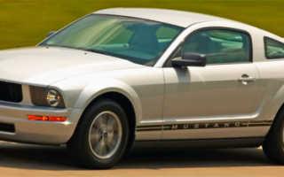 Форд мустанг 2005 характеристики