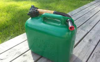 Лучшие пластиковые канистры для бензина