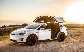Тесла автомобиль кроссовер фото