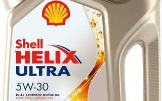 Шелл хеликс ультра 5w30 технические характеристики