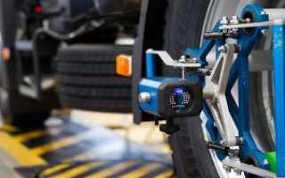 Что такое сход развал колес