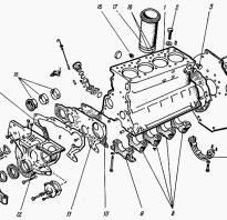 Схема затяжки головки цилиндров д 240