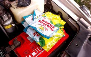 Чистим радиатор лимонной кислотой