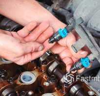 Промывка форсунок бензинового двигателя
